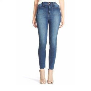Madewell High Waisted Sailor Jeans